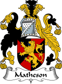 Scottish Coat of Arms for Matheson