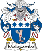 Spanish Coat of Arms for Malagamba