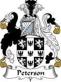 English Coat of Arms for Peterson