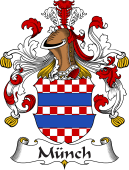 German Wappen Coat of Arms for Münch