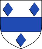 English Family Shield for Parry (Wales)