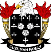 American Coat of Arms for Cushman