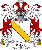 Italian Coat of Arms for Vitale