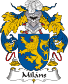 Spanish Coat of Arms for Miláns