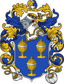 English or Welsh Coat of Arms for Kellam (Danby, Yorkshire)