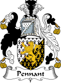 English Coat of Arms for Pennant