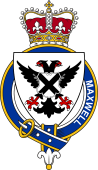 Families of Britain Coat of Arms Badge for: Maxwell (England)