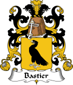 Coat of Arms from France for Bastier