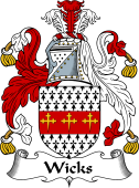 English Coat of Arms for Wicks