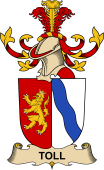 Republic of Austria Coat of Arms for Toll