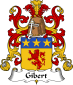 Coat of Arms from France for Gibert