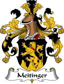 German Wappen Coat of Arms for Meitinger
