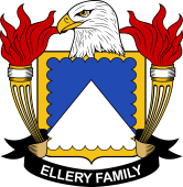 American Coat of Arms for Ellery
