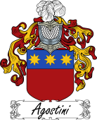 Araldica Italiana Italian Coat of Arms for Agostini