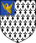 English Family Shield for Pell