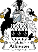 English Coat of Arms for Atkinson