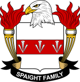 American Coat of Arms for Spaight