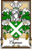 Scottish Coat of Arms Bookplate for Chapman