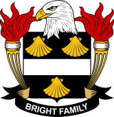 American Coat of Arms for Bright