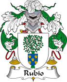 Spanish Coat of Arms for Rubio