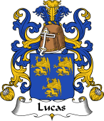 Coat of Arms from France for Lucas