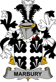 Irish Coat of Arms for Marbury or Maybery