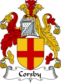 Scottish Coat of Arms for Corsby