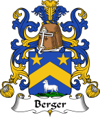 Coat of Arms from France for Berger