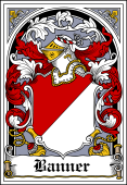 Danish Coat of Arms Bookplate for Banner