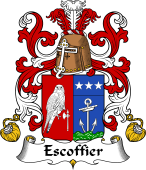 Coat of Arms from France for Escoffier