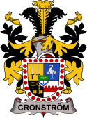 Swedish Coat of Arms for Cronström