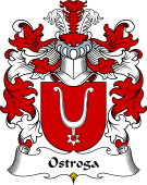 Polish Coat of Arms for Ostroga