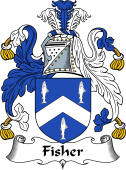 Scottish Coat of Arms for Fisher