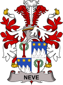Danish Coat of Arms for Neve