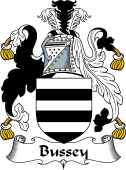 English Coat of Arms for Bussey