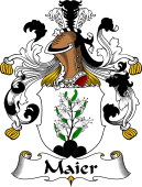 German Wappen Coat of Arms for Maier