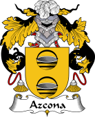 Spanish Coat of Arms for Azcona
