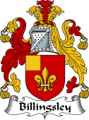 English Coat of Arms for Billingsley