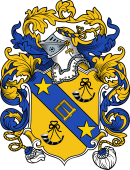English or Welsh Coat of Arms for Burns