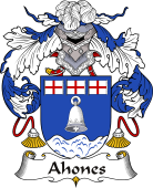 Spanish Coat of Arms for Ahones