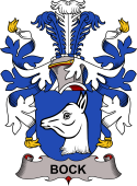 Swedish Coat of Arms for Bock