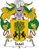 Spanish Coat of Arms for Isasi