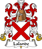 Coat of Arms from France for Lande ( de la)