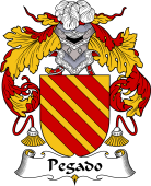 Portuguese Coat of Arms for Pegado