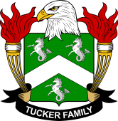American Coat of Arms for Tucker