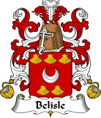 Coat of Arms from France for Belle-Isle or Belisle