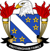 American Coat of Arms for Frothingham