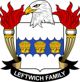 American Coat of Arms for Leftwich
