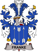 Danish Coat of Arms for Franke