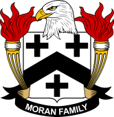 American Coat of Arms for Moran